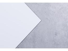 Aluminium Verbundplatte Stärke 4 mm weiss